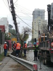 Trabajos de recuperación en Alto del Carmen y Vallenar