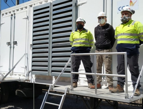 CGE concreta conexión de generador para la comuna de Vicuña y avanza en trabajos en Paihuano