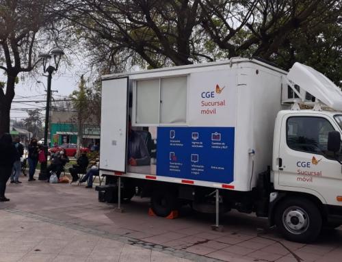 CGE refuerza atención de oficina móvil en regiones Metropolitana y Coquimbo por pandemia