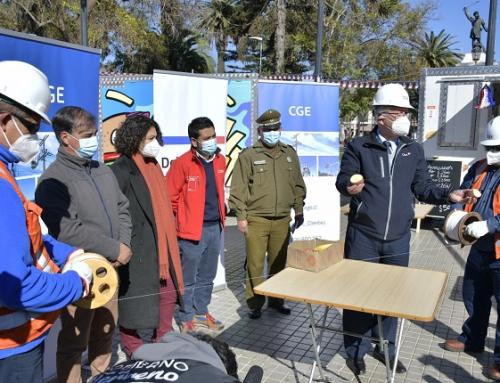 Delegación Presidencial y Municipio de Melipilla lanzan junto a CGE campaña Volantín Seguro